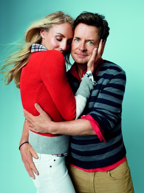 "Michael J. Fox and wife Tracy Pollan embody ""true love."""