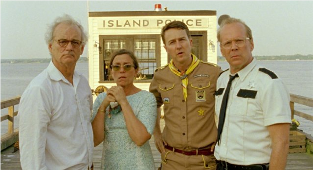 The film features a who's who of Hollywood A-listers, including Bill Murray in his 6th appearance in a movie by Wes Anderson.