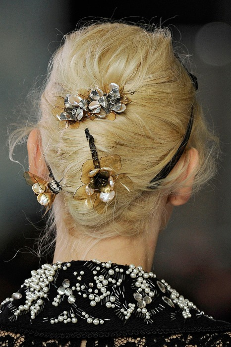 Grown up barrettes at Tory Burch.