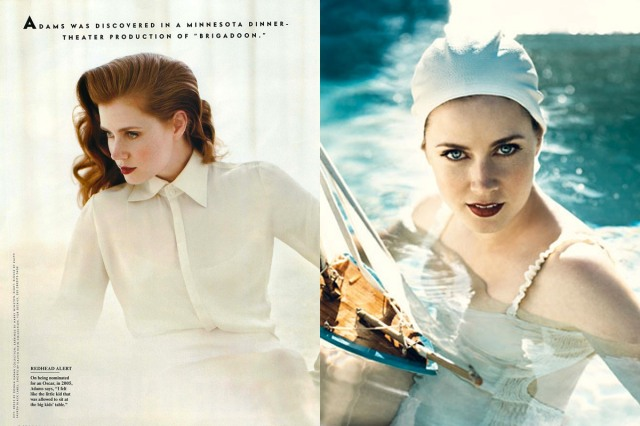 Amy Adams in Vanity Fair, October 2007. Photographed by Norman Jean Roy