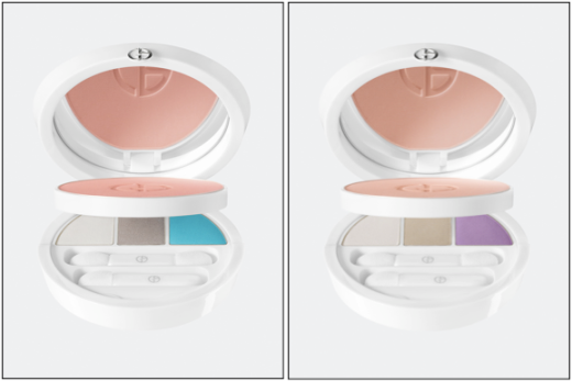 Armani's Face & Eye Bliss Palettes