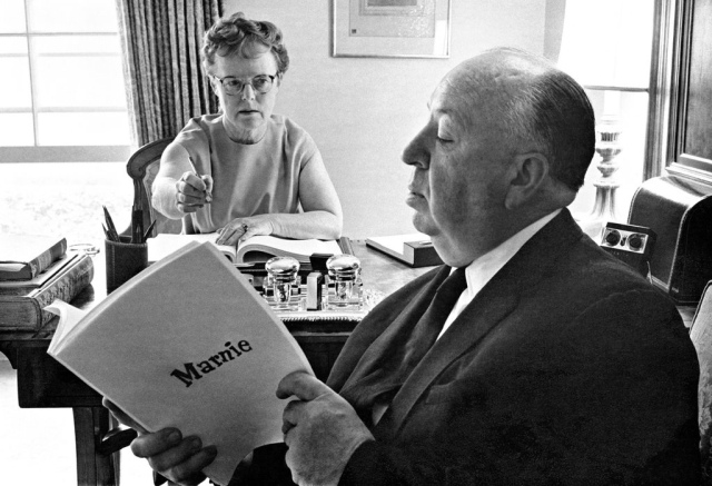 Alma and Alfred Hitchcock. The pair met working at a Paramount studio, and collaborated on work throughout their lives.