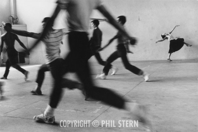 Rita Moreno (aka Anita) on the set of West Side Story, 1961.