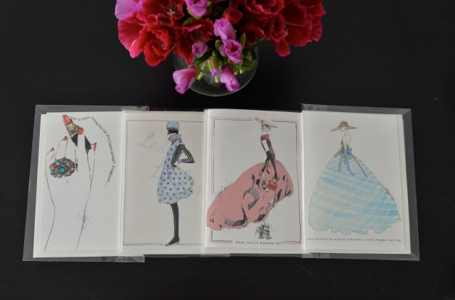 Frame-worthy stationary from the mother-daughter team at Verrier Boutique.