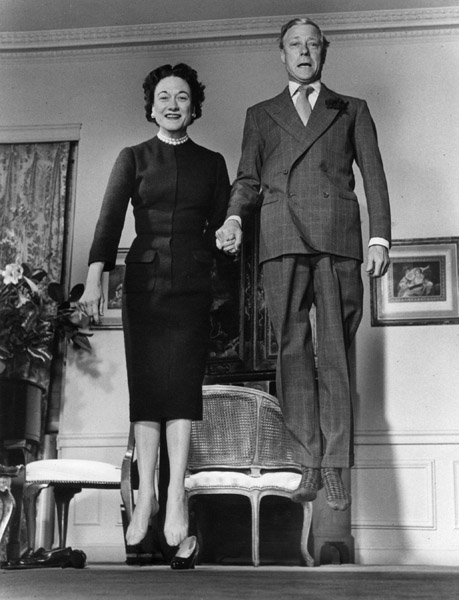 The one that started it all: the Duke and Duchess of Windsor, 1956.