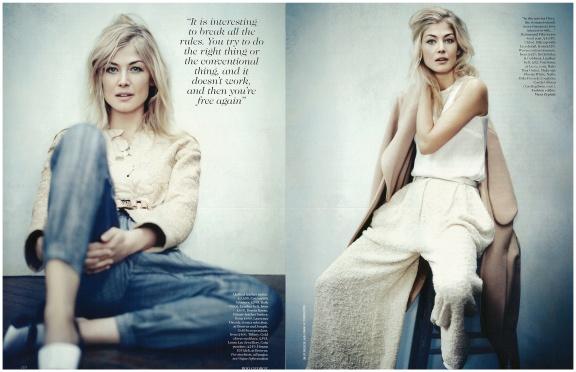 """Pike's Progress."" Vogue UK, June 2013."