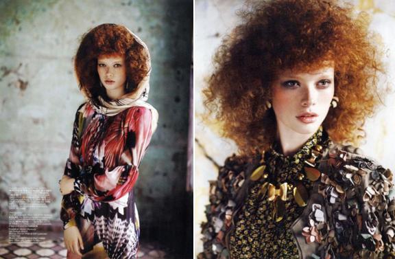Vogue Turkey, April 2010.
