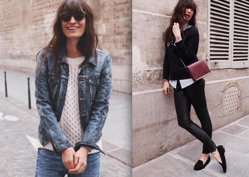 Jean Jacket With Sweater Yb66fS